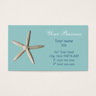 Starfish beach Business Card