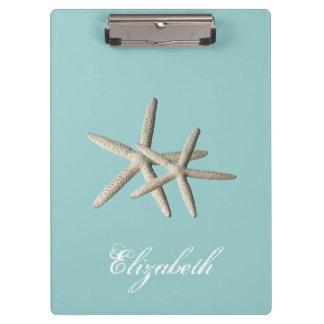 Starfish Beach Clipboard