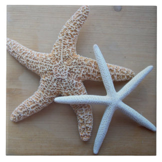 Starfish Beach Home Decorative Square Tile