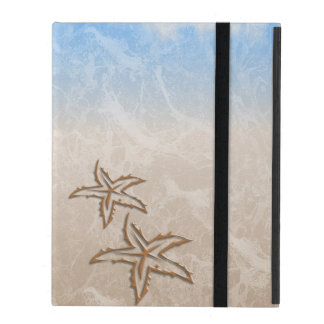 Starfish Beach iPad Folio Case