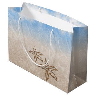 Starfish Beach Large Gift Bag