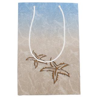 Starfish Beach Medium Gift Bag