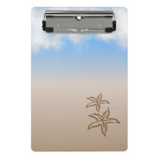 Starfish Beach Mini Clipboard