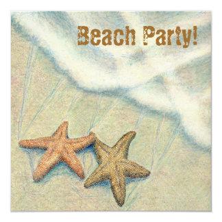 Starfish Beach Party! Card
