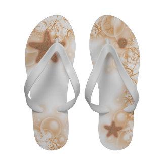 Starfish beach wedding sandals