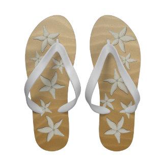 Starfish Beach Wedding Flop Flops Sandals