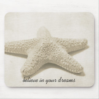 Starfish Believe Mouse Pad