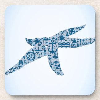 Starfish Beverage Coasters