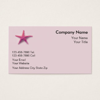 Starfish Business Cards