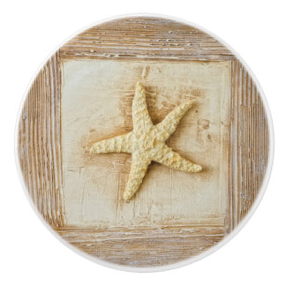 Starfish Ceramic Knob