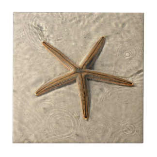 Starfish Ceramic Tile Trivet