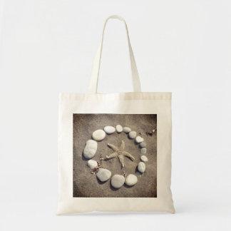 Starfish Circle Tote Bag