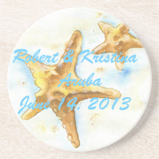 Starfish Coaster-Wedding Favor Coaster