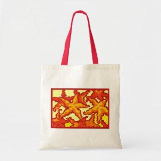 Starfish Composition Budget Tote Bag