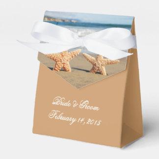 Starfish Couple on the Beach Wedding Favour Box