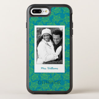 Starfish Crowd Pattern | Your Photo & Name OtterBox Symmetry iPhone 7 Plus Case