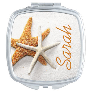 Starfish Custom Compact Mirror