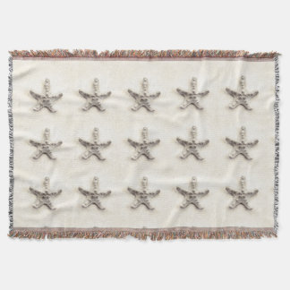 Starfish decorative throw blanket