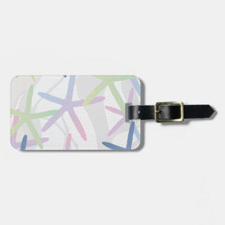 Starfish Design Luggage Tag