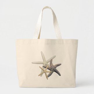Starfish Family Summer Season Large Tote Bag
