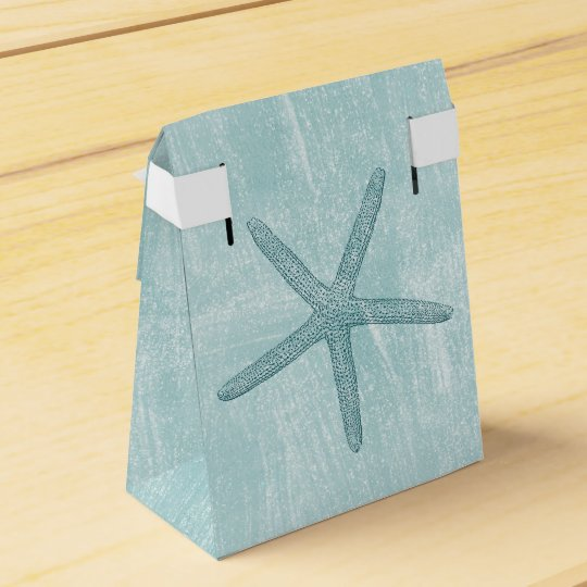 Starfish Favor Boxes