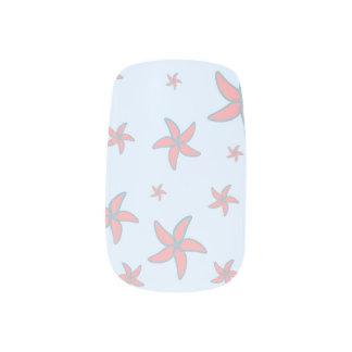 starfish fun minx nail art