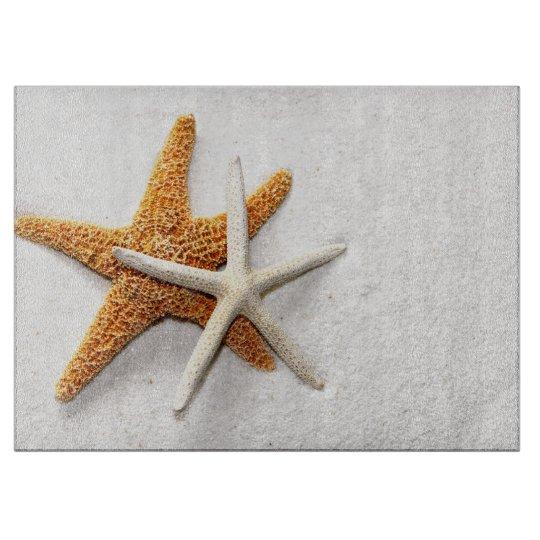 Starfish Glass Cutting Board