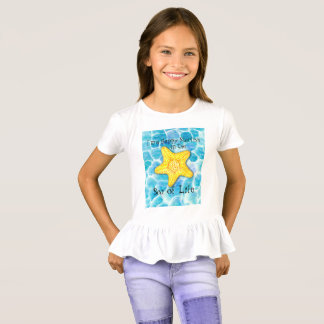 "Starfish in Ocean ""Sea of Life"" T-Shirt"