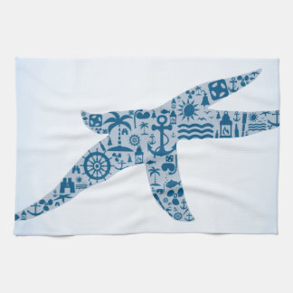 Starfish Kitchen Towel