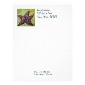 Starfish letterhead