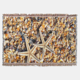 Starfish Lover Throw Blanket