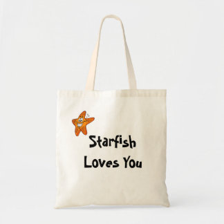 Starfish Loves You Tote Bag