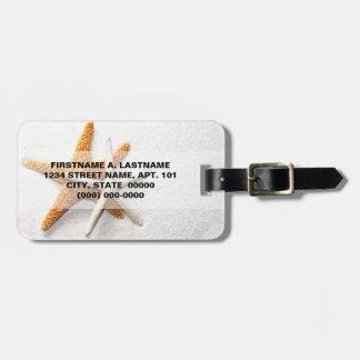 Starfish Luggage Tag