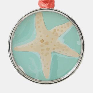 Starfish Metal Ornament