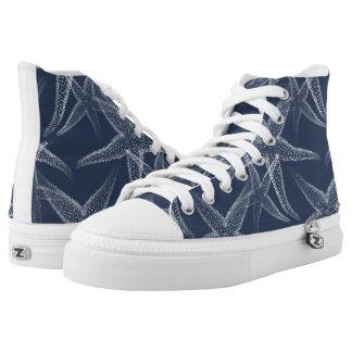 Starfish Navy Blue Beach Shoes
