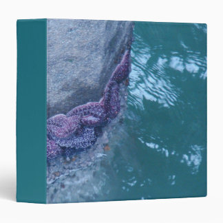 Starfish Ocean Animals Wildlife Snail Avery Binder