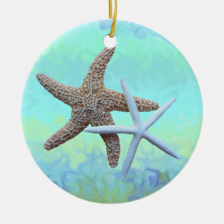Starfish Ocean Theme Ornaments