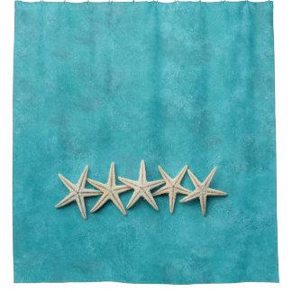 Starfish on Ocean Blue Background