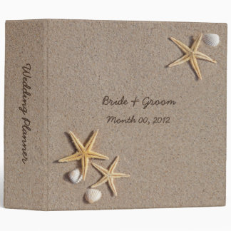 Starfish on the Beach Wedding Planner Binder