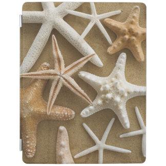 Starfish On The Sand iPad Cover