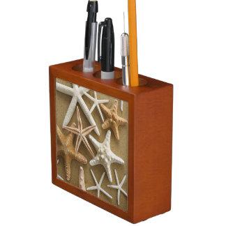Starfish On The Sand Pencil/Pen Holder