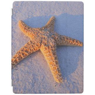 Starfish On White Sand iPad Cover