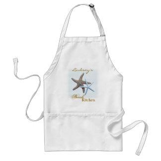 Starfish Personalized Beach Kitchen Apron