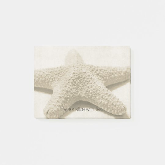 Starfish Personalized Post-it Notes