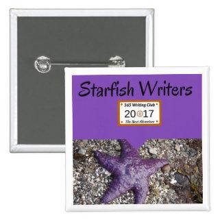 Starfish Pin! 2 Inch Square Button