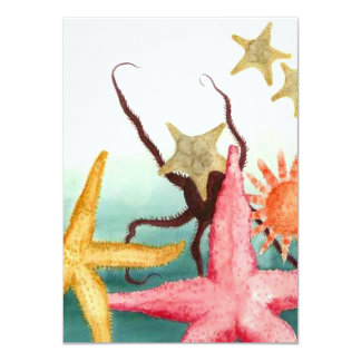 Starfish Rescue Story Blank Announcements Invites