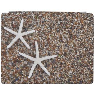 Starfish skeletons on Glass Beach iPad Cover