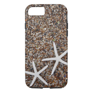 Starfish skeletons on Glass Beach iPhone 7 Case