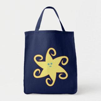 Starfish star fish canvas bags