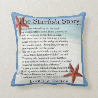 starfish story pillow